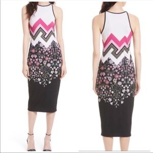 Ted Baker Seenaa Printed Jersey Dress